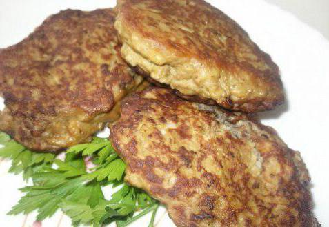 печеночники из куриной печени рецепт с фото