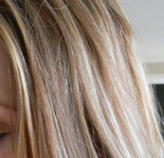 пепельный тоник на осветленные волосы