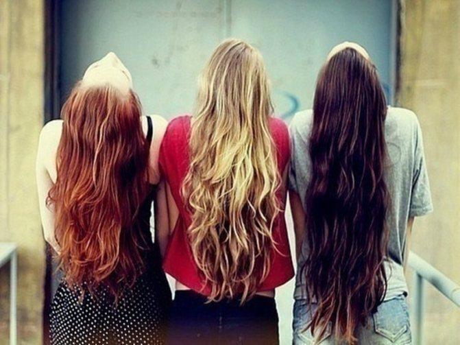 Перекись воздействует на волосы любого оттенка
