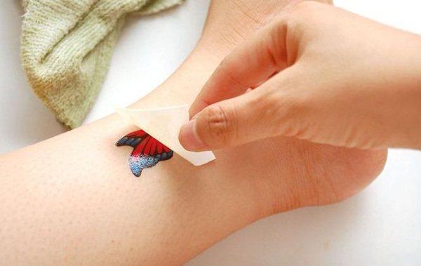 Переводные татуировки. Фото, как сделать дома, где купить, сколько держится