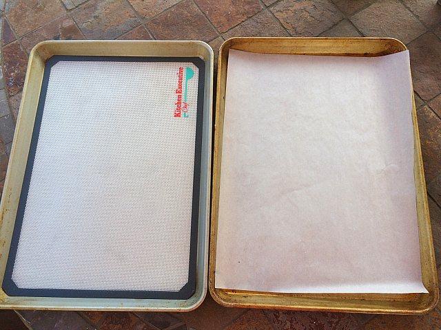Пергамент на посуде