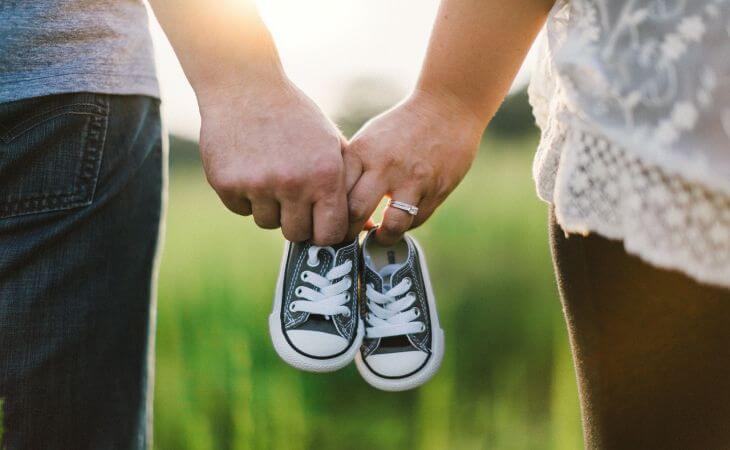 Период семейных отношений после 10 лет