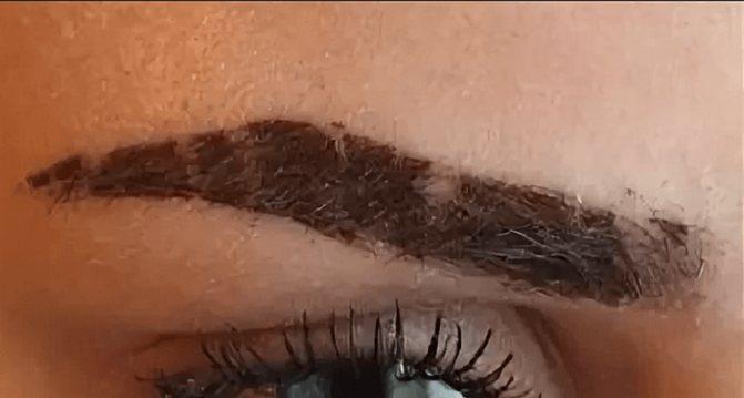 перманентный макияэ бровей уход после процедуры