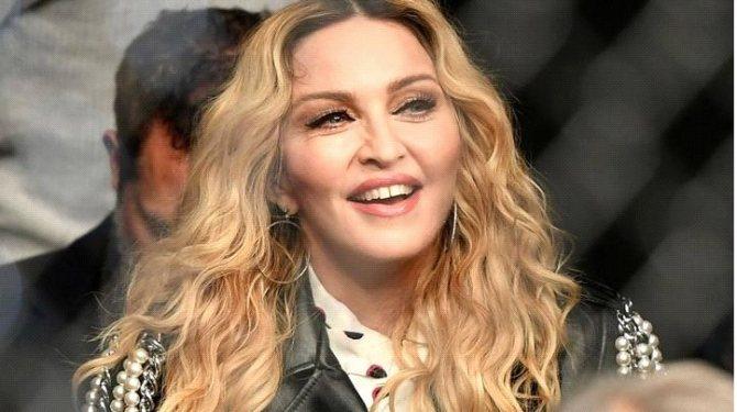 Перманентный макияж бровей Мадонны