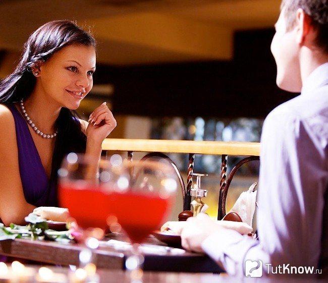 Первая встреча в ресторане