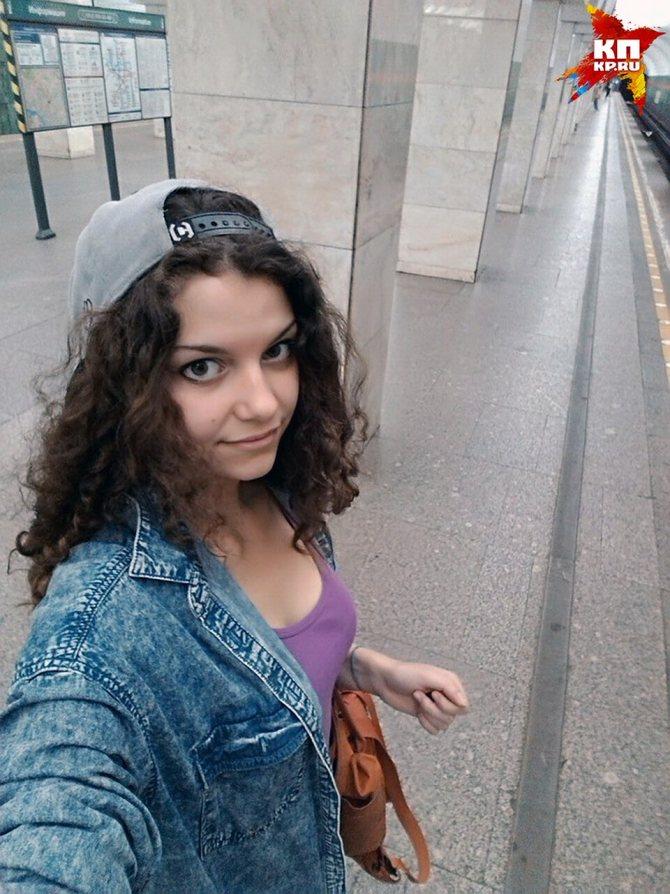 Первое селфи в метро Фото: Майя ЕРШОВА