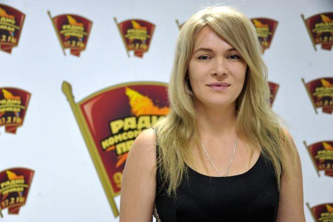 Певица и киноактриса Виктория Макарская