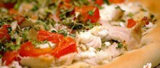 пицца рецепт с курицей