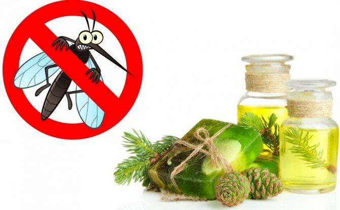 Пихтовое масло от комаров