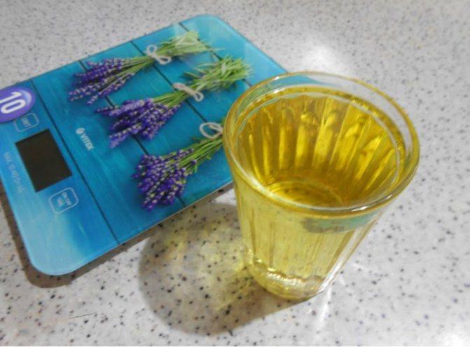 пить масло натощак