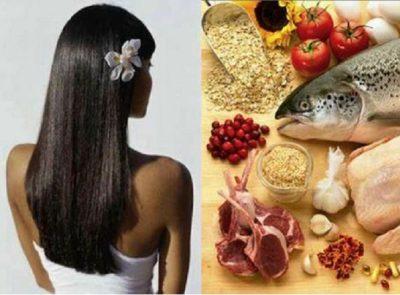 Питание против выпадения волос