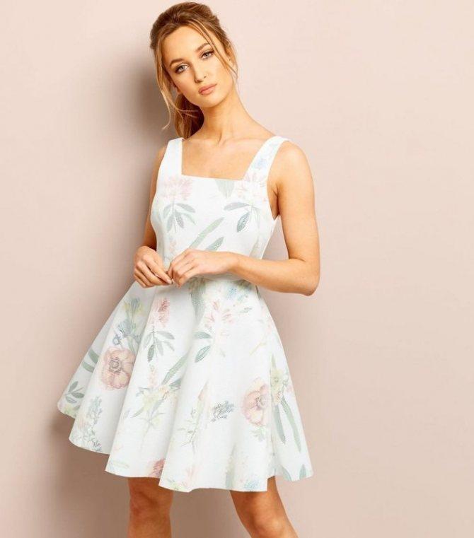 Платье бэби долл