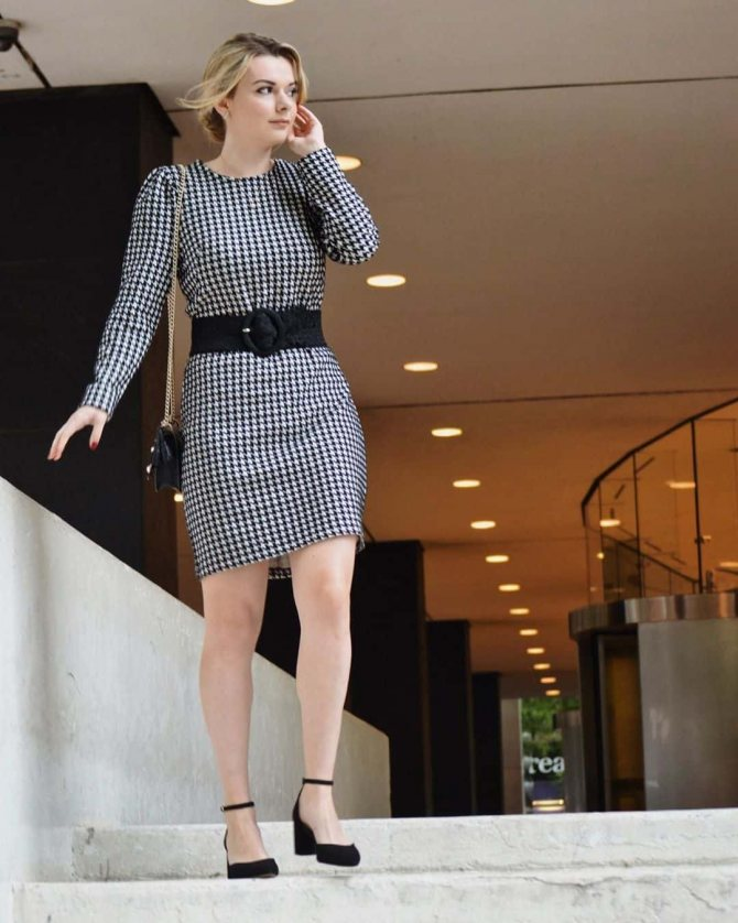 платье для офисного стиля