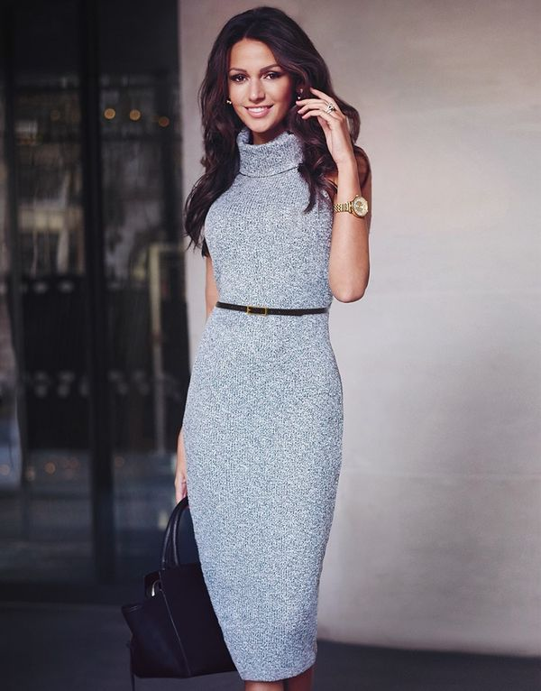платье карандаш трикотажное