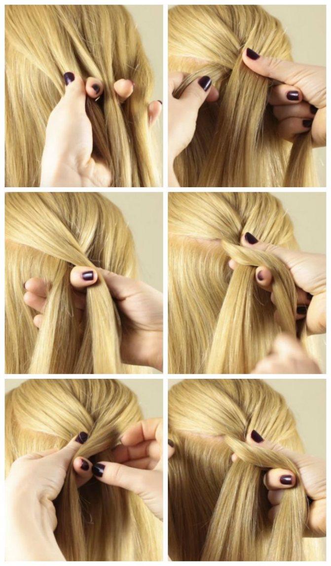 Плетение французской косы пошаговое фото для начинающих (схема)