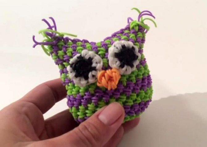 Плетение из резинок на станке для начинающих: фигурки и браслеты с фото