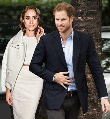 По слухам, принц Гарри собирается жениться на Меган
