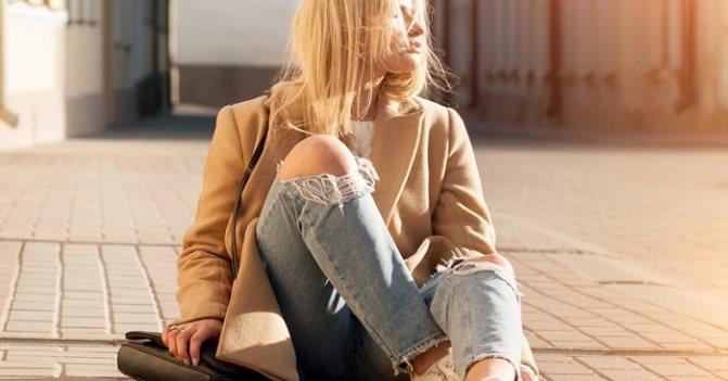 Почему больше не стоит носить рваные джинсы Вдохновение