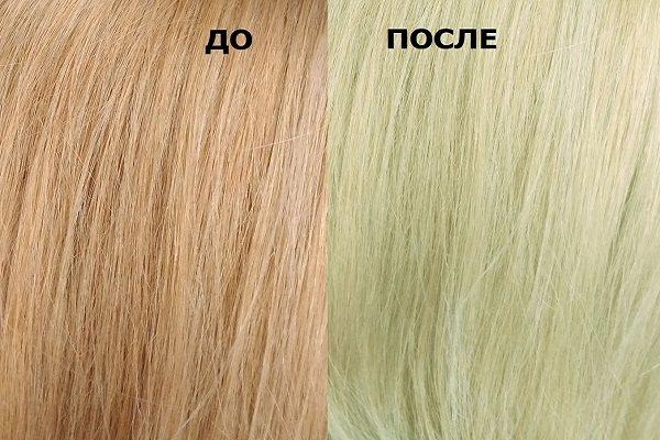 Почему появляется зелёный оттенок волос?