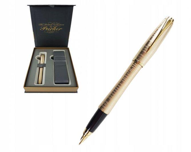 Подарок парню на день Святого Валентина - ручка Parker