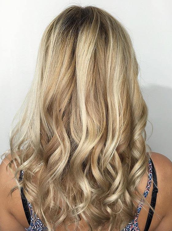 Подчеркнутый блонд