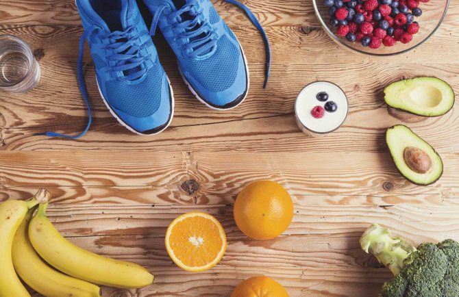 Поддержать форму поможет не только здоровое питание, но и спорт