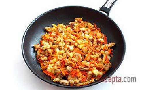 Подлива с мясом с овощами. А вы знаете, как сделать подлив с мясом и овощами? Подробный рецепт 29