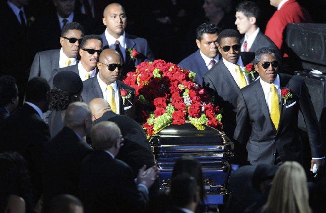 Похороны Майкла Джексона. Мемориальная служба.