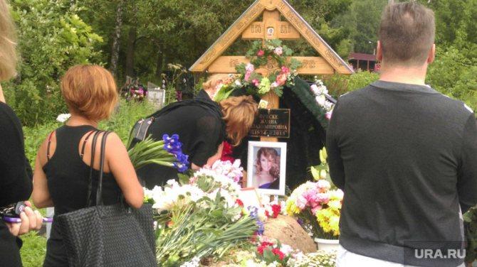 Похороны Жанна Фриске. 40 дней. Москва, фриске наталья