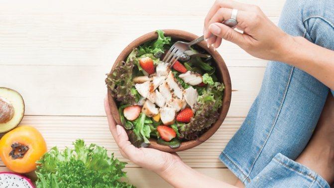 Похудеть при правильном питании