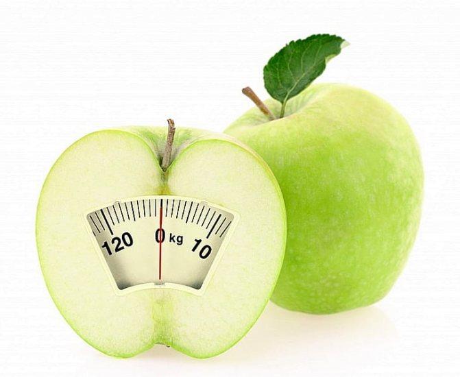 Похудеть с помощью печеных яблок