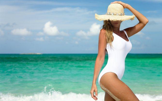 Похудеть в отпуске на море