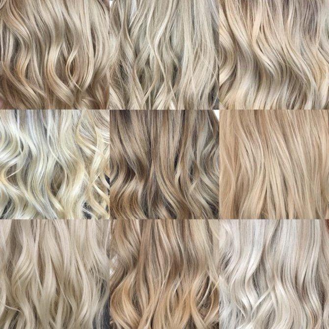 покрасить волосы светлым тоником