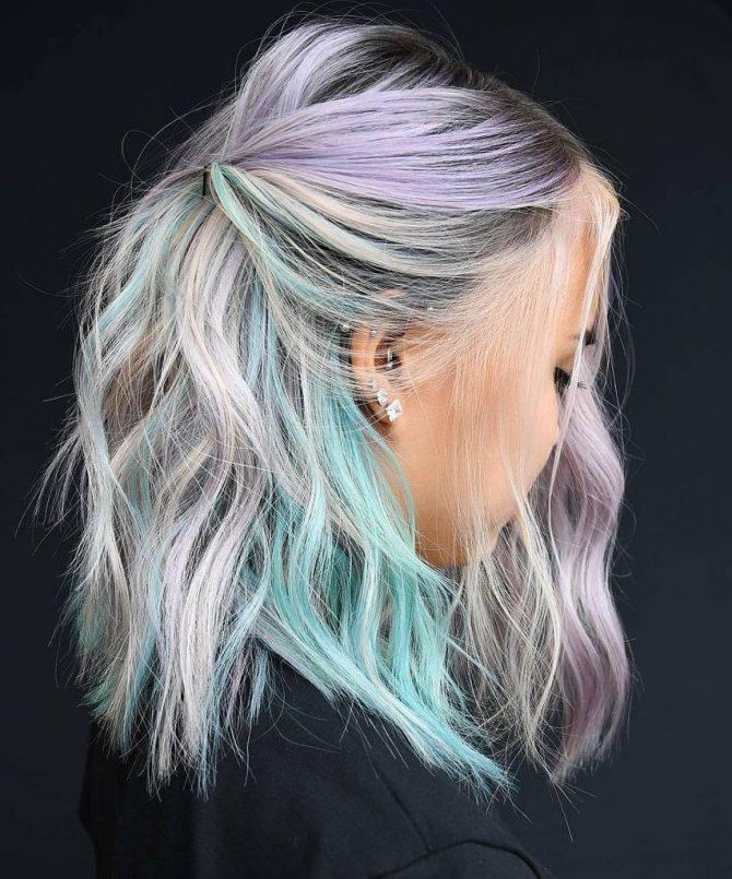 Покраска волос басмой седых волос