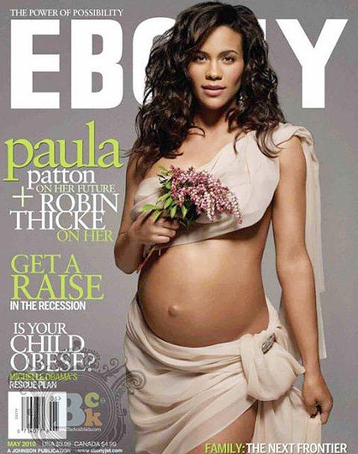 Пола Пэттон на обложке журнала Ebony