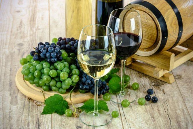 Полезен ли бокал красного вина в день