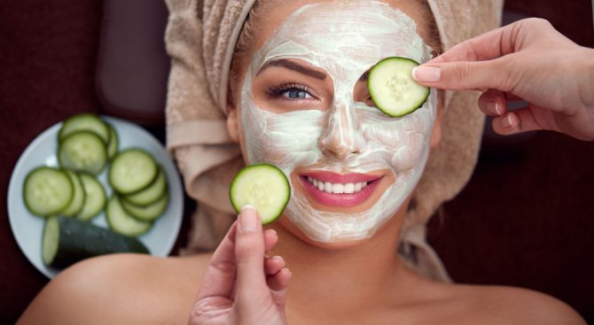 Полезные овощи для ухода за кожей лица и рецепты эффективных косметических средств
