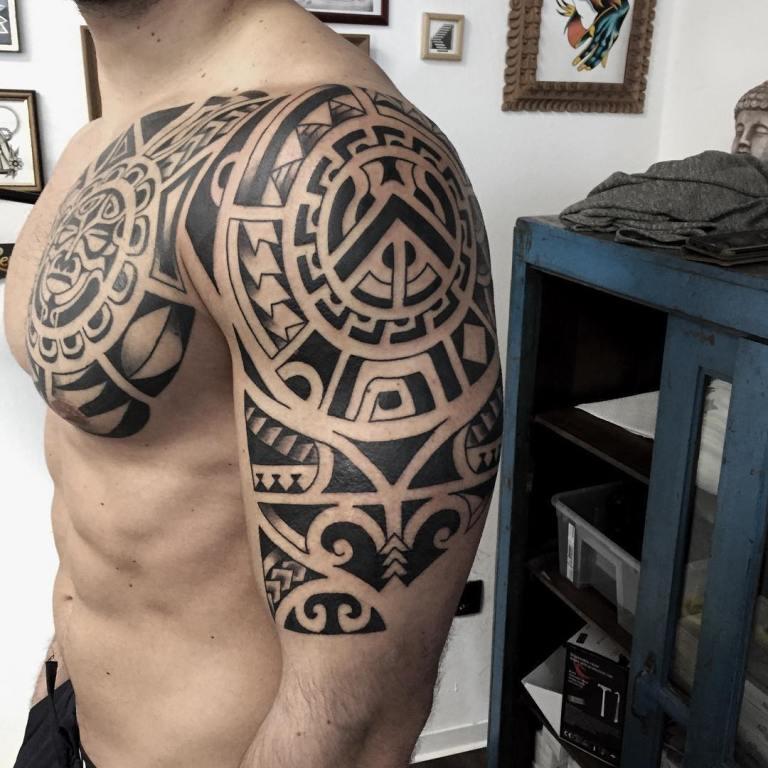 полинезийская тату