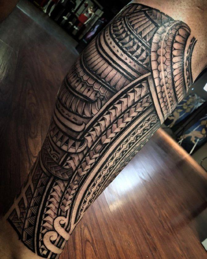 полинезийские татуировки значение