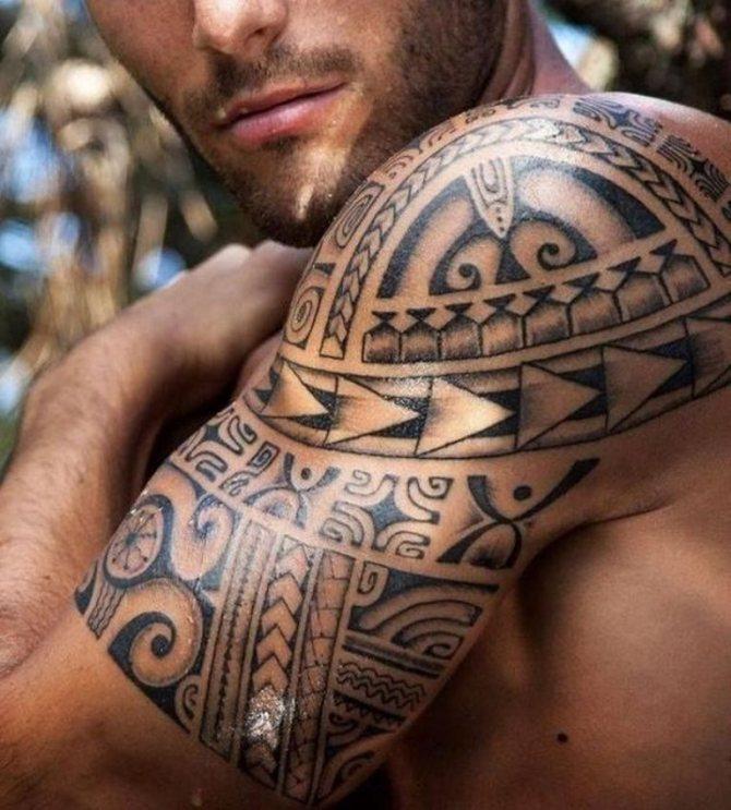 полинезийские узоры