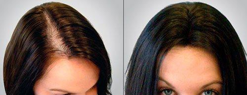 Положительный эффект от масок для волос