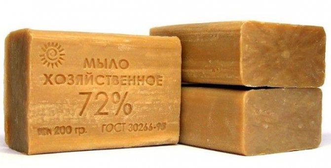 польза и вред для волос хозяйственного мыла