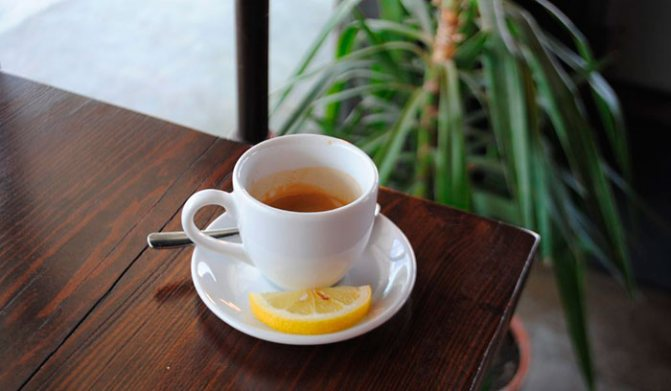 Польза кофе с лимоном