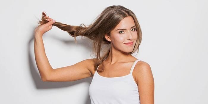Польза уксуса для волос