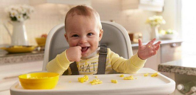 Польза яичного желтка для ребенка