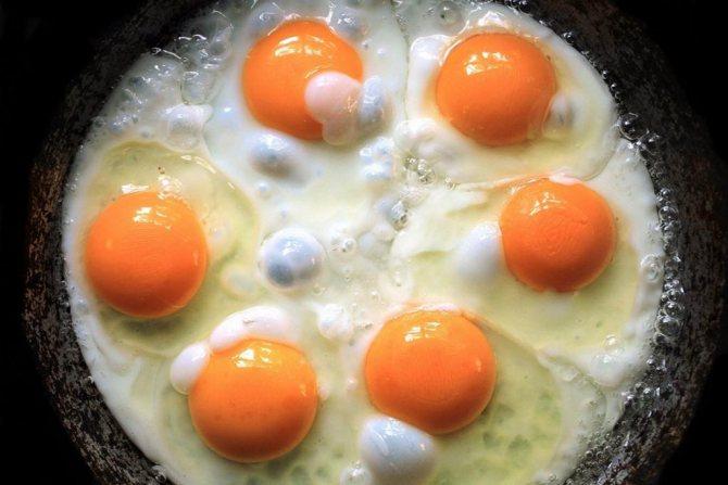 Польза яичных желтков