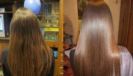 После смывки красить волосы