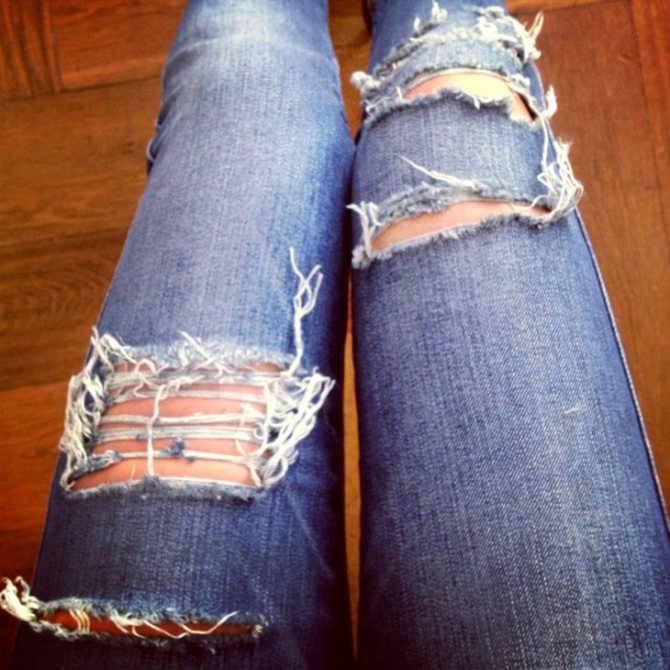 Потертые джинсы: как правильно сделать потертость на джинсах своими руками в домашних условиях