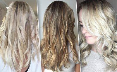 Потрясающий балаяж на светлые волосы разной длины. Пошаговая инструкция: как сделать в домашних условиях?