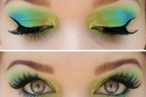 Повседневный макияж для цветотипа зима. Макияж для глаз и губ
